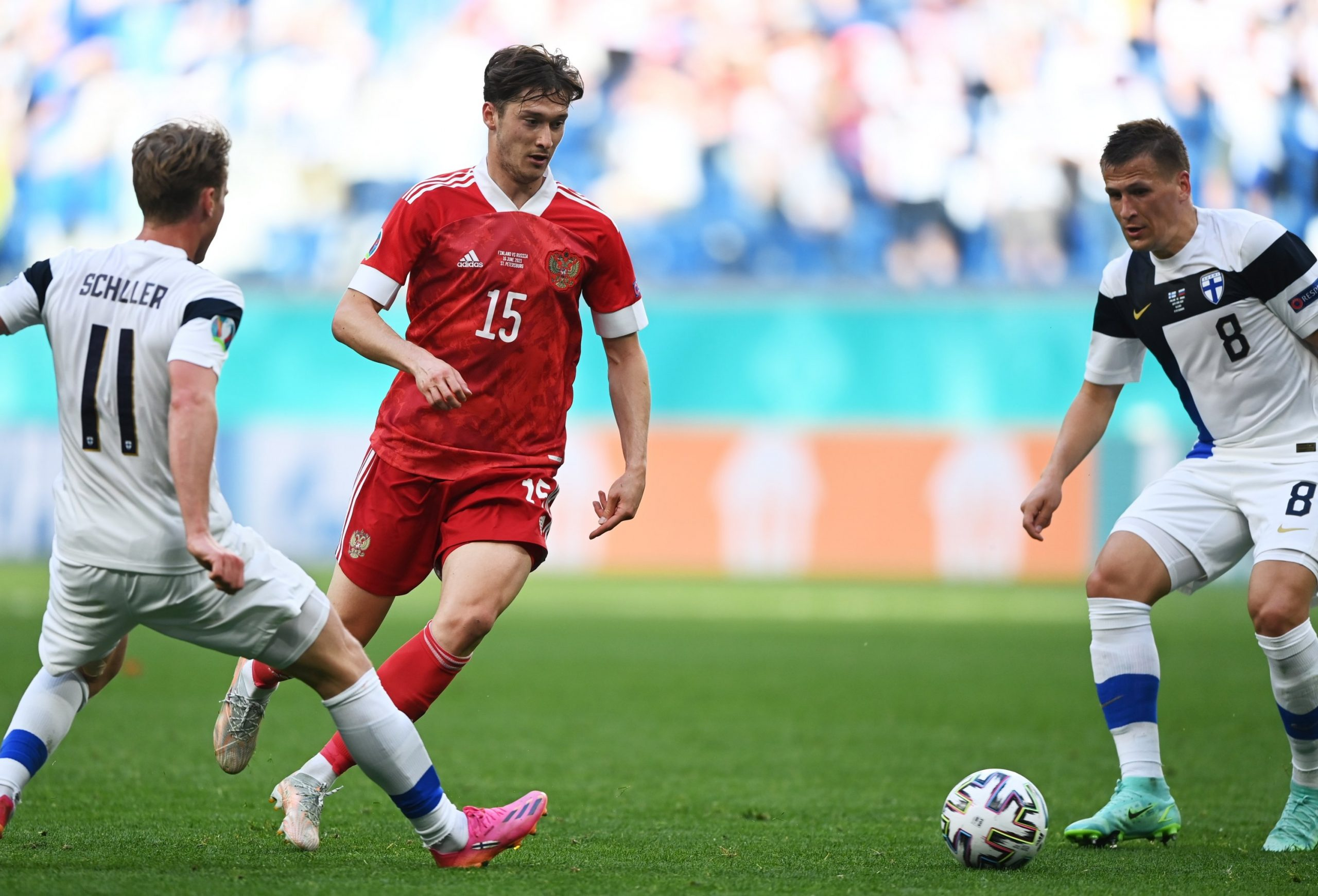 Euros 2020: Russia Take First Three Points From Finland