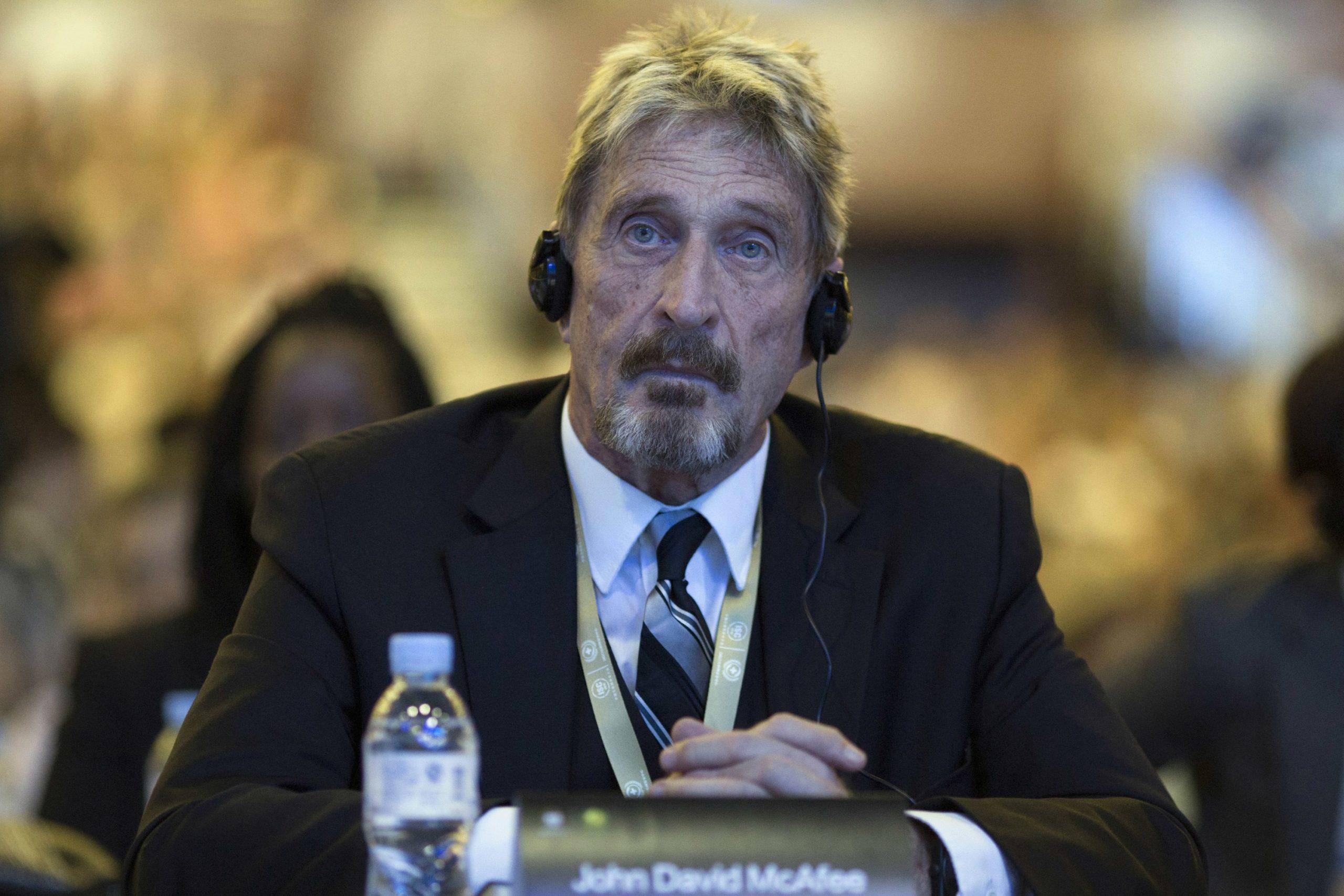 McAfee, antivirus creator, found dead in apparent suicide