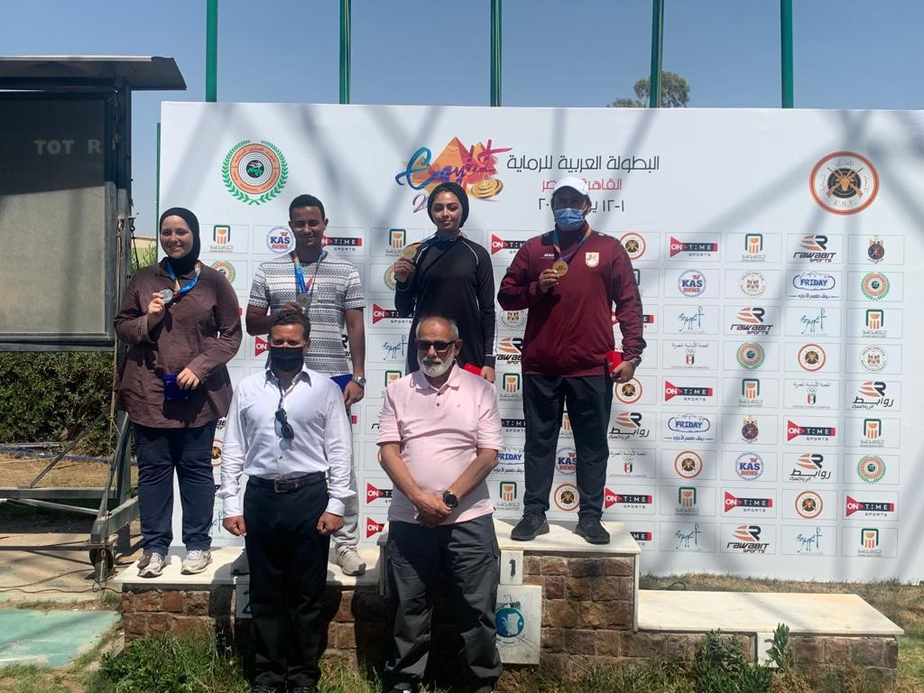 Qatar Shooting Team Wins Gold Medal in Arab Championship