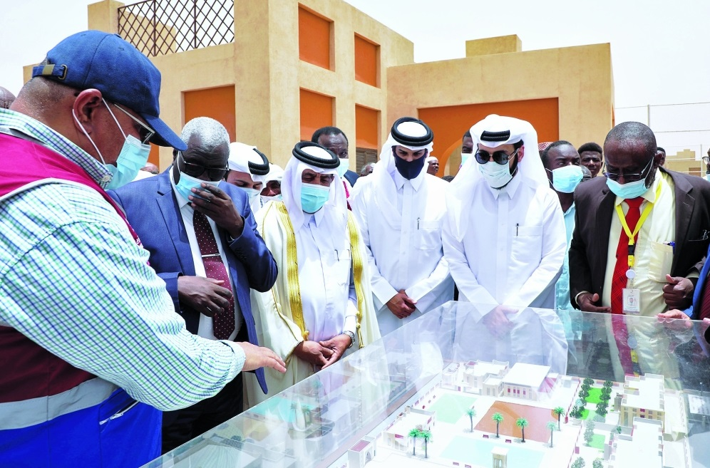 QC Opens Taiba Education City for Orphans in Sudan