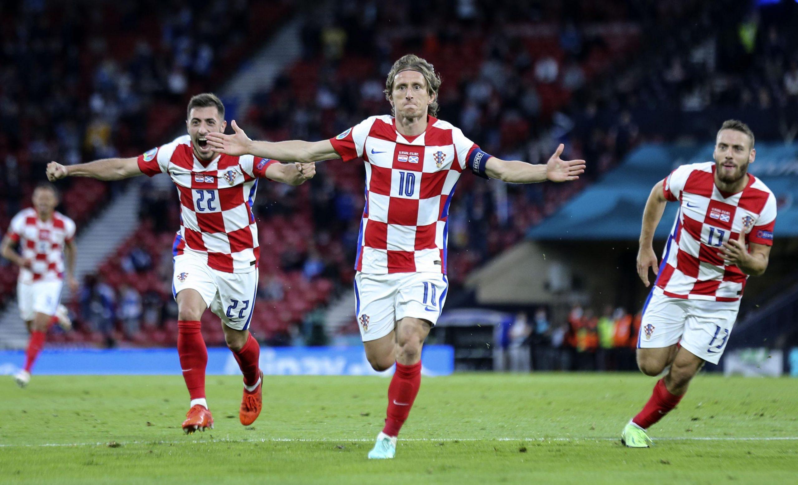 Croatia advances at Euro 2020 with Modrić leading the way