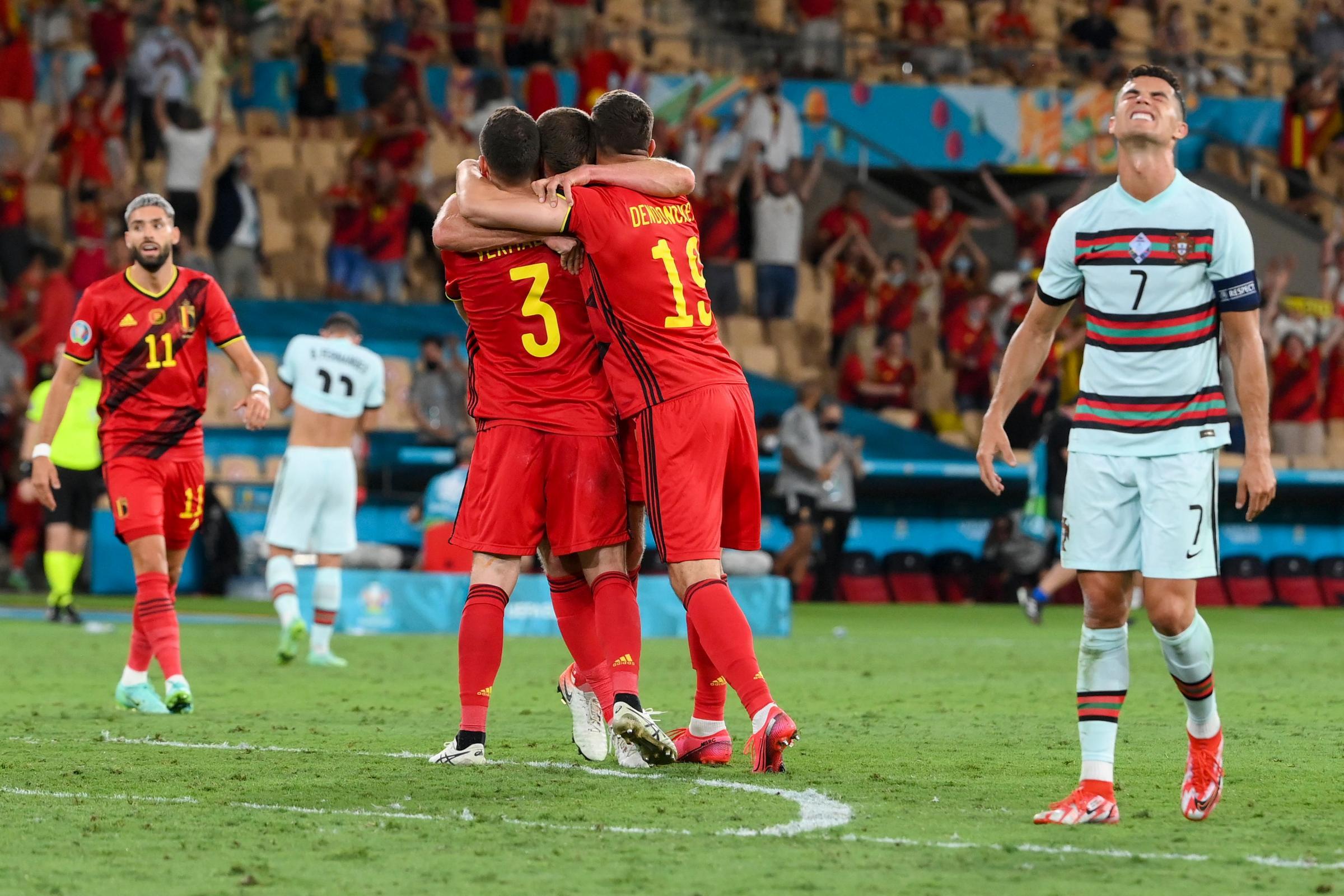 Euro 2020: Belgium Beat Portugal to Set up Quarter-Final Against Italy