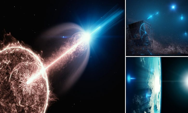 Universe's biggest Explosion is caught on camera