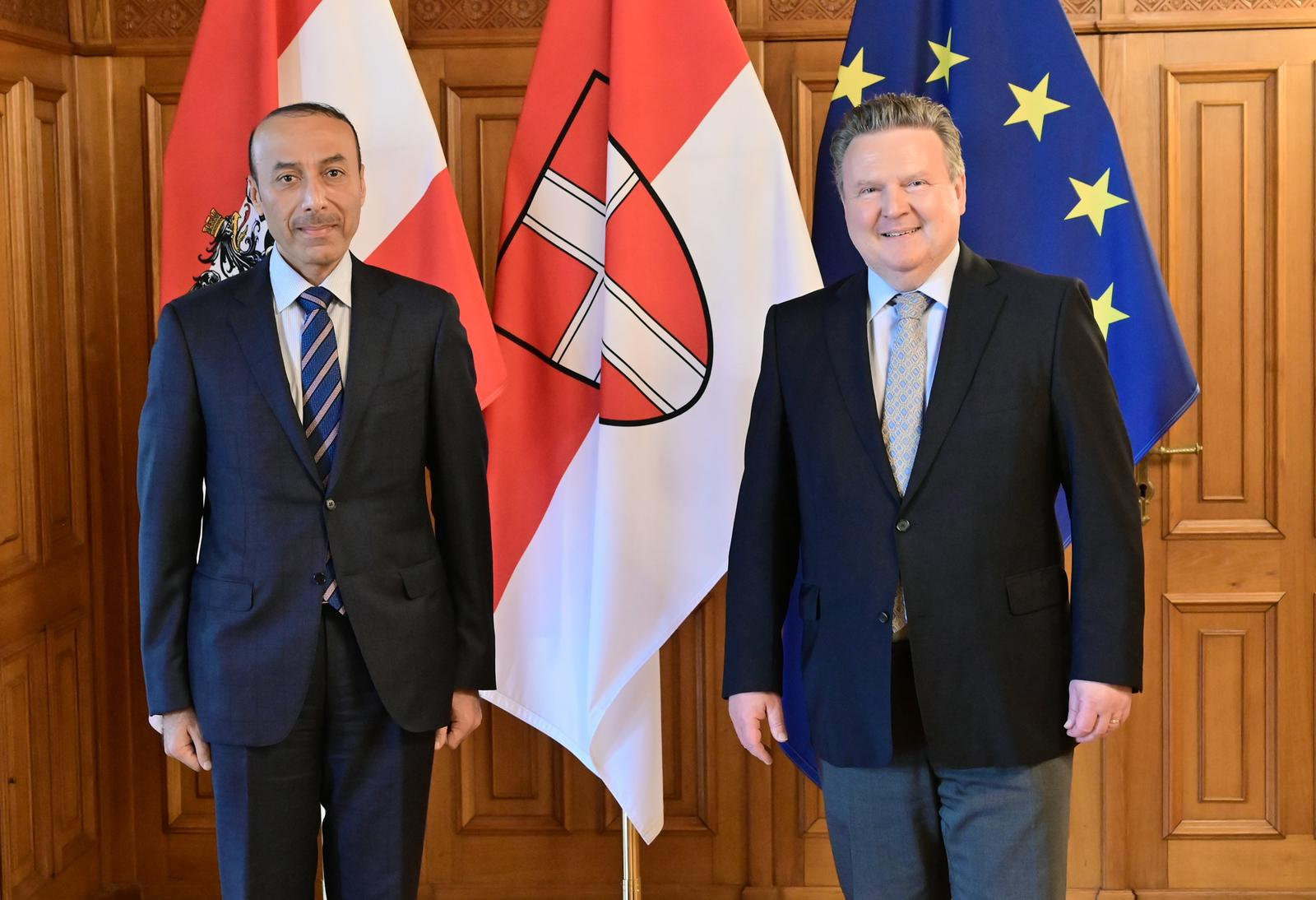 Socialist Mayor-Governor of Vienna Affirms Depth of Austrian-Qatari Relations