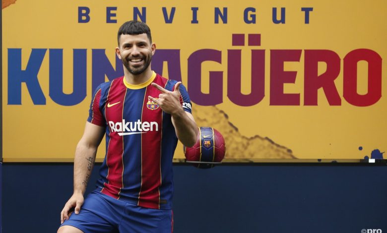 Barcelona reaches deal with Agüero to boost team's attack