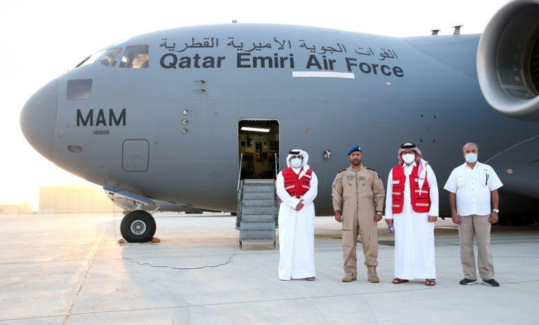 QRCS Sends Medical Aid Shipment to Mauritania