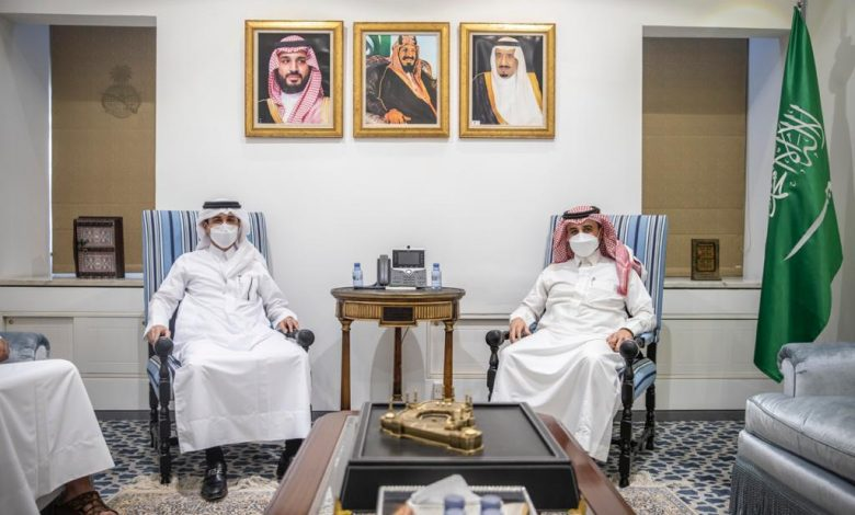 Undersecretary of Saudi Ministry Meets Qatar's Charge d'Affaires