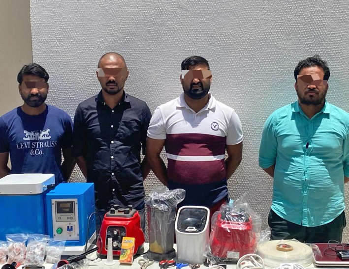 Four arrested for trying to smuggle gold out of Qatar