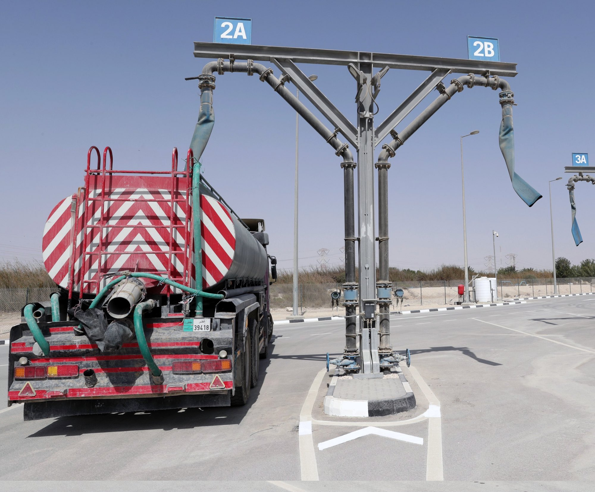 Ashghal builds filling station for treated water