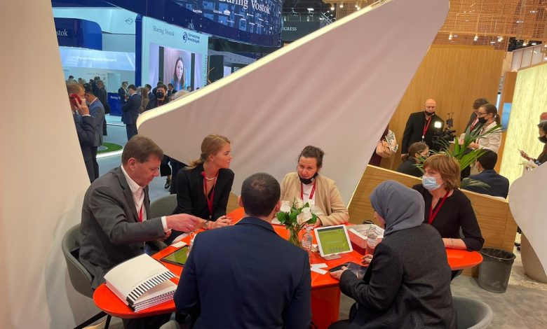 MOTC Conducts Several High-level Meetings at 2021 Edition of SPIEF