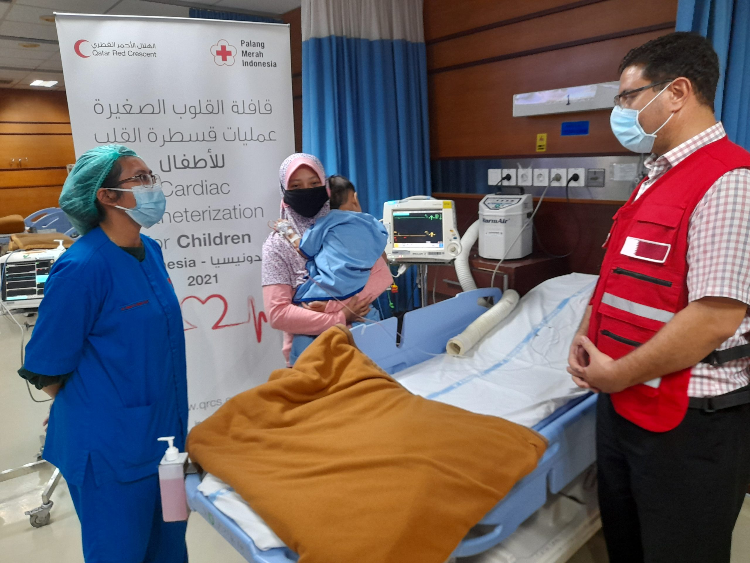 QRCS Concludes Little Hearts Project in Indonesia