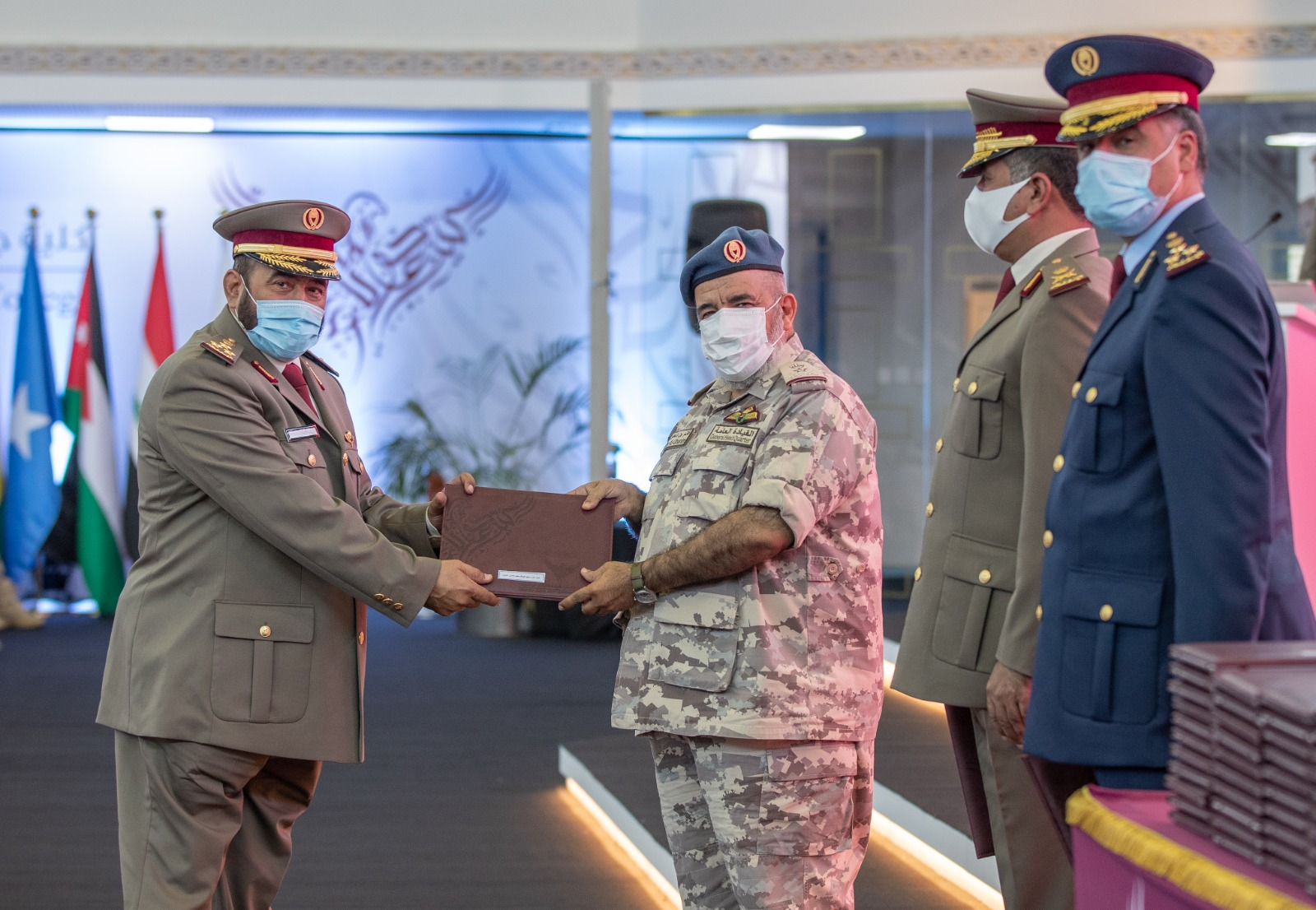 Joaan bin Jassim Joint Command and Staff College Celebrates Graduation of Two High-Ranking Courses