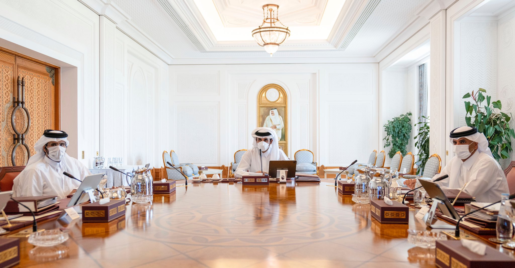 Amir Chairs Second Meeting of Supreme Council for Economic Affairs and Investment