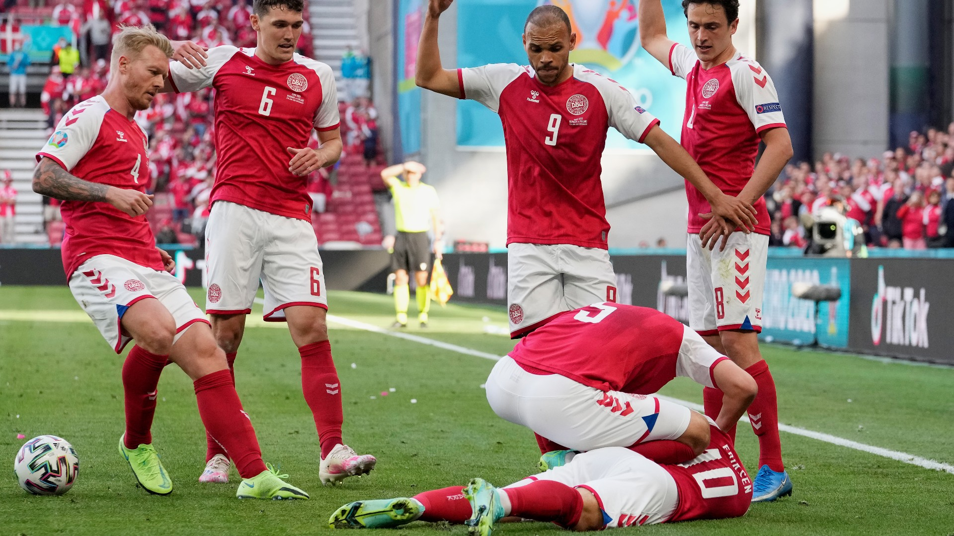 Heart attack causes EURO match to be suspended