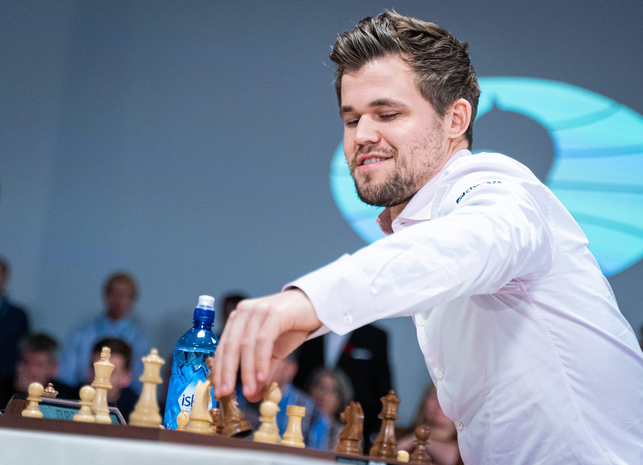Chess World Champion Carlsen Through to Katara Bullet Championship Quarter-Finals