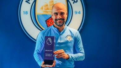 Pep Guardiola named EPL manager of the season