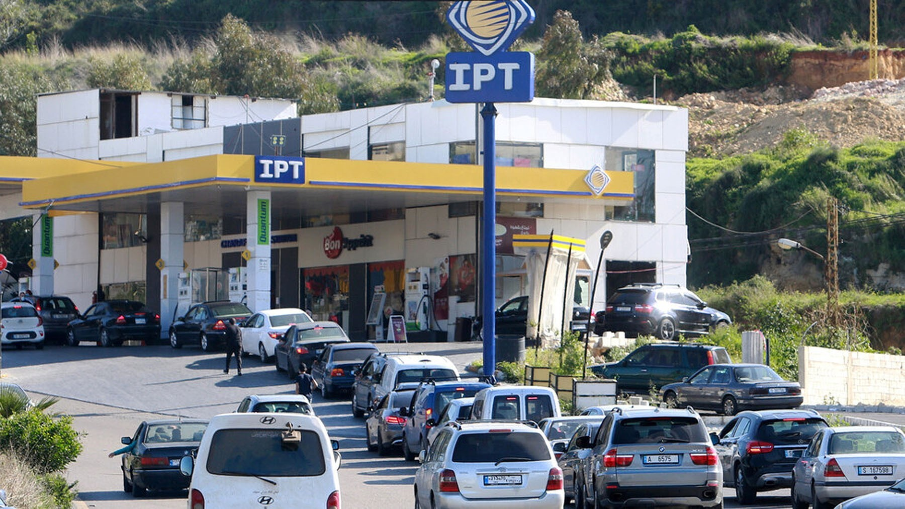 A Concert at a Lebanese gas station