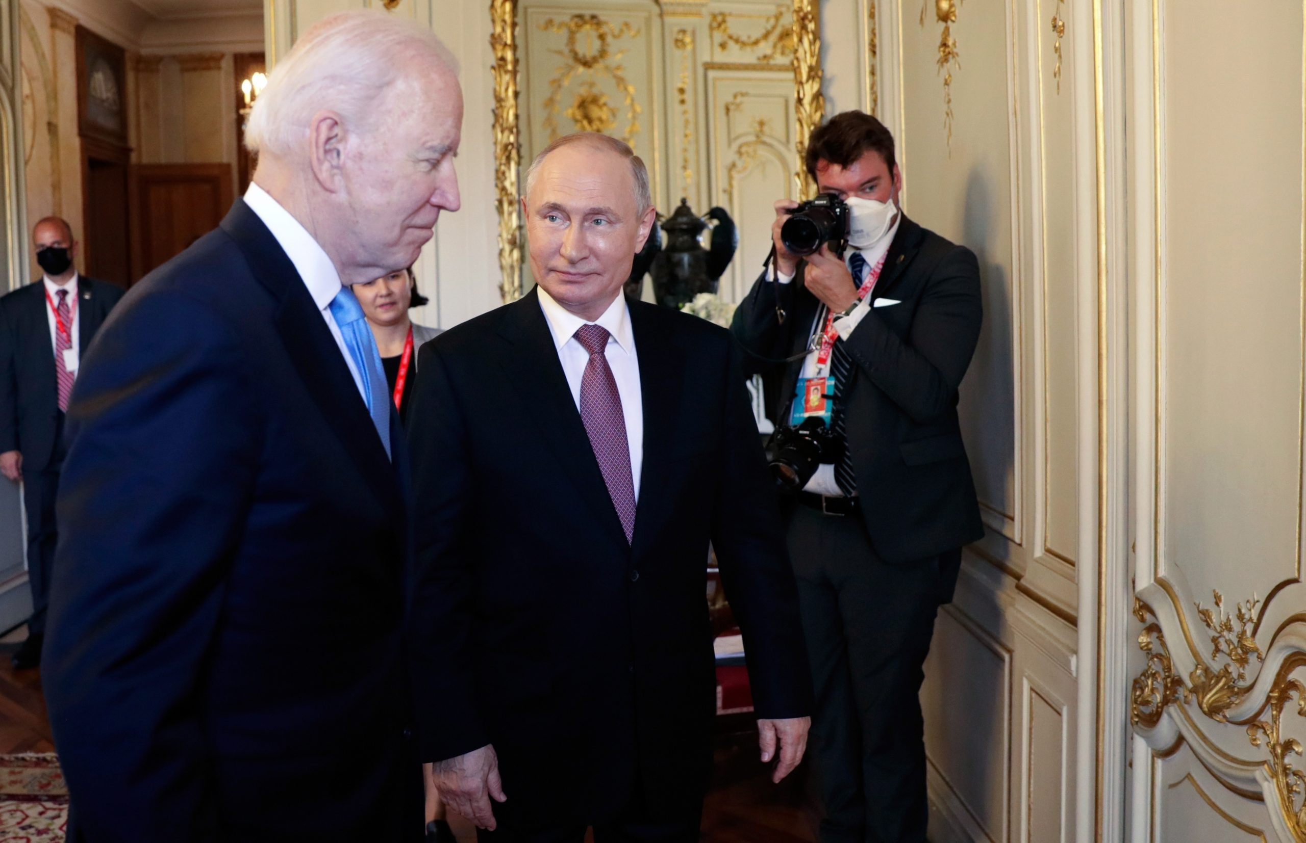 Biden tells Putin certain cyber-attacks should be 'off-limits'