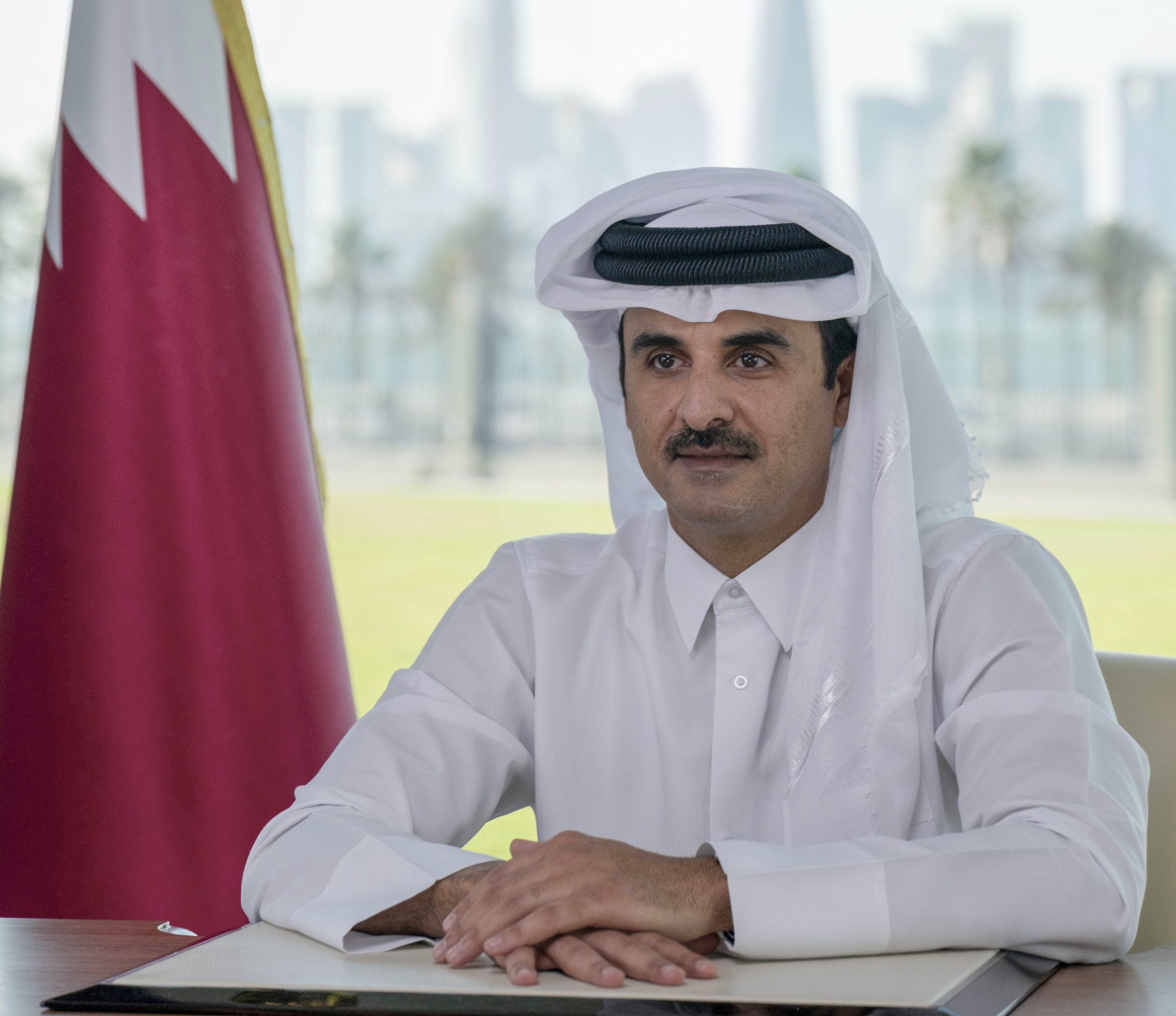 Amir Opens the Qatar Economic Forum Powered by Bloomberg