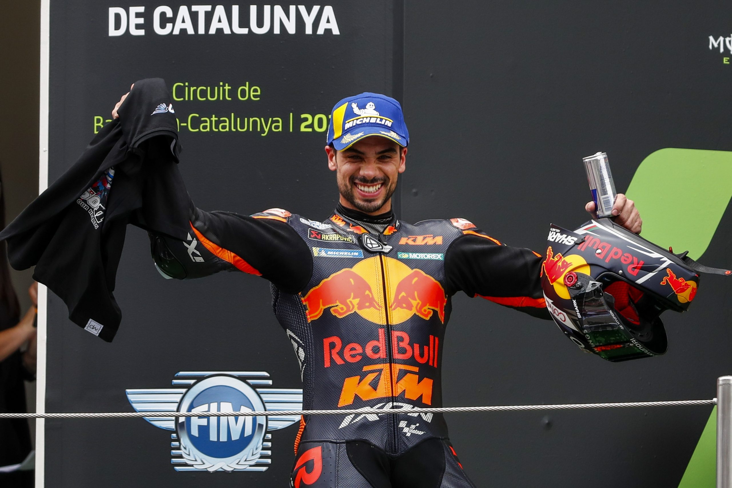 Oliveira wins MotoGP race in front of nearly 20,000 in Spain