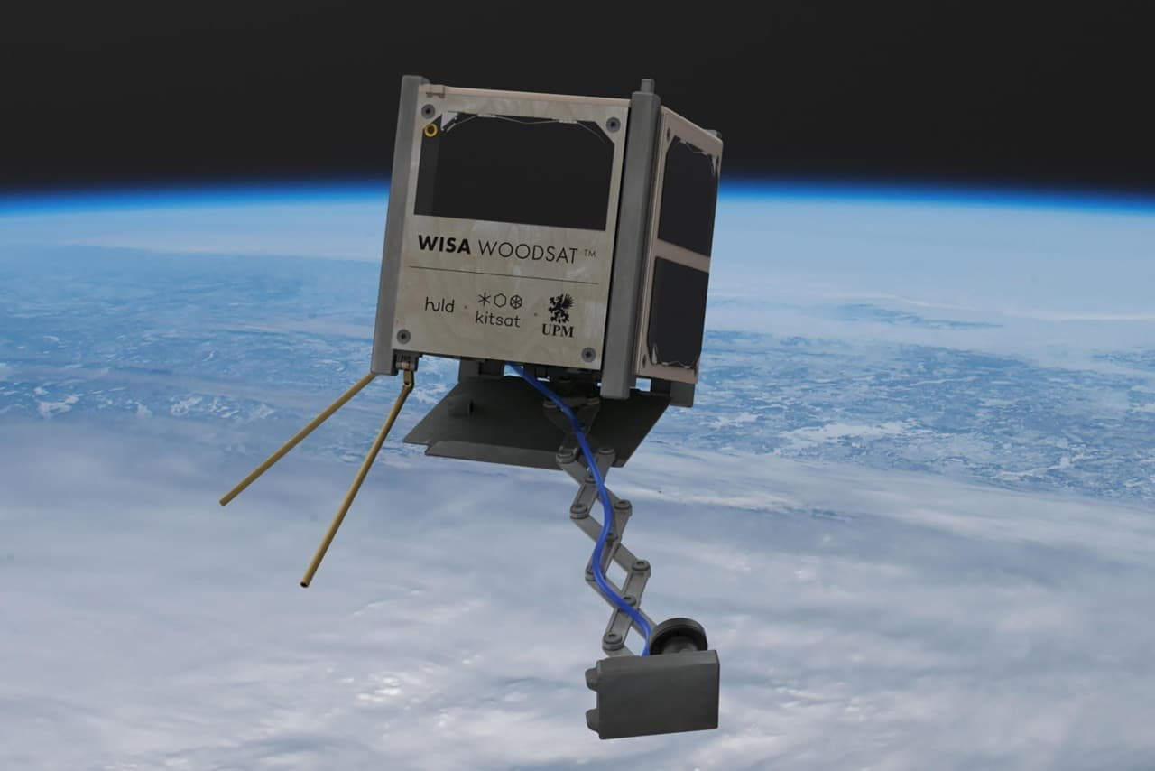 First European Wooden Satellite Set To Launch at the end of 2021
