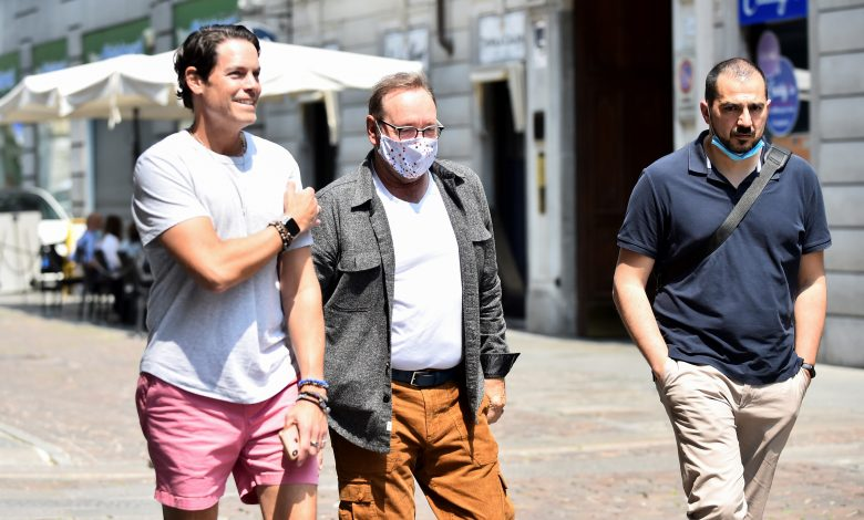 Kevin Spacey returns to work with role in Italian film