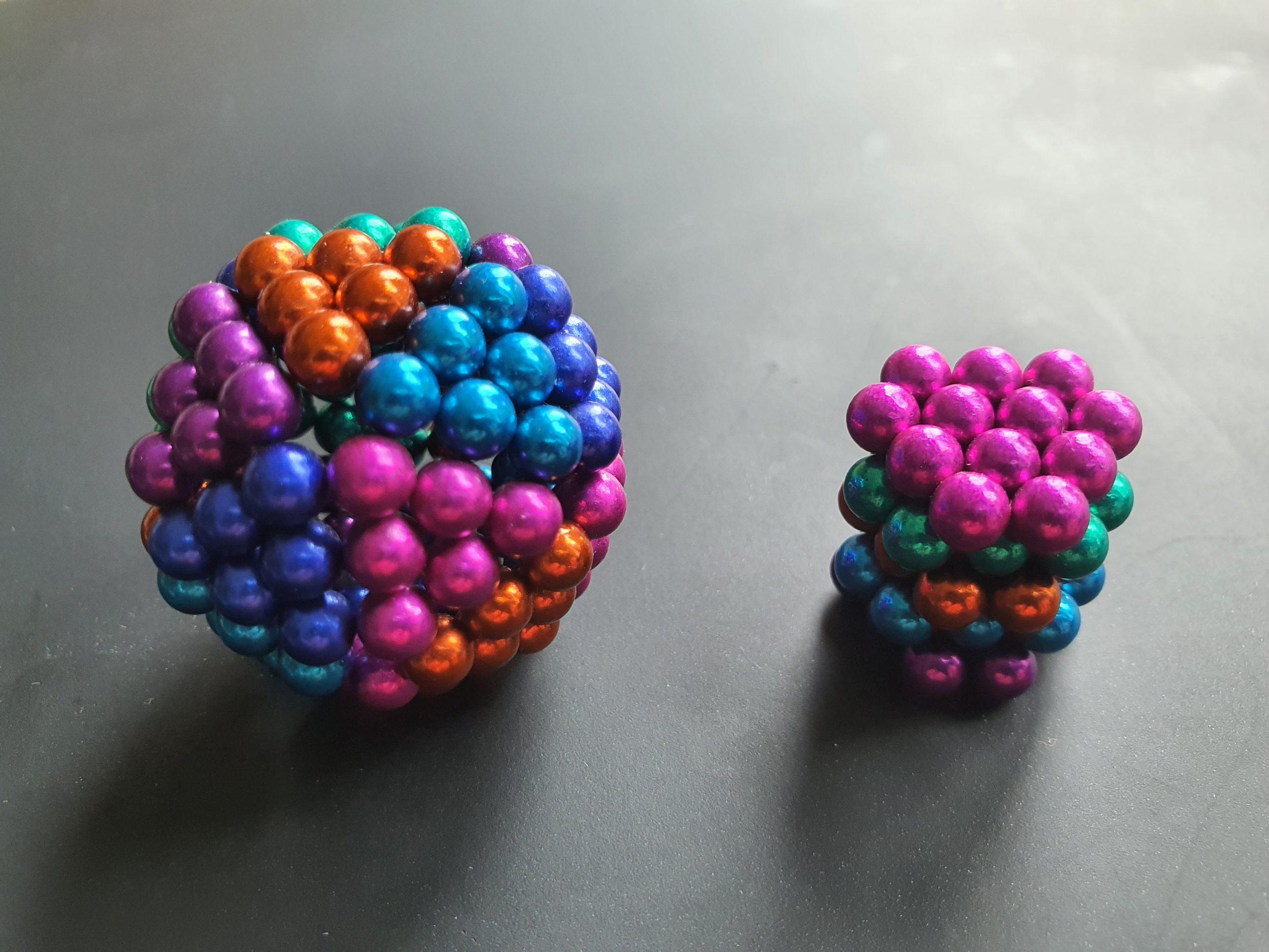 Magnetic ball toys threaten children's lives