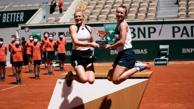 French Open Krejcikova Adds Women's Doubles to Singles Title