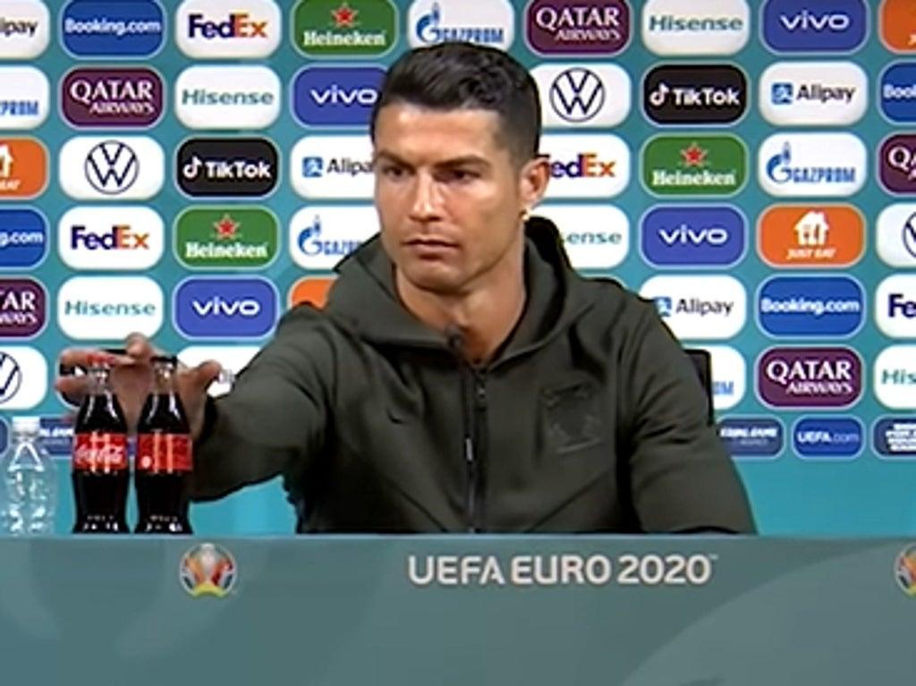 Coca-Cola loses $4 billion in market value after Cristiano Ronaldo shuns Coke