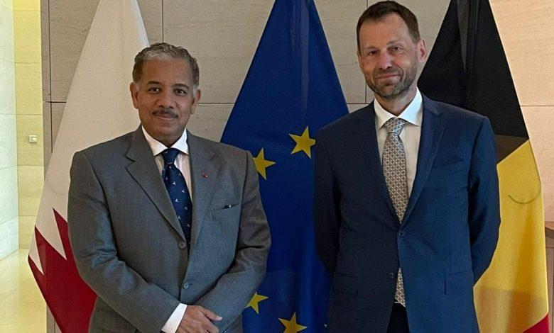 EU Special Envoy for Afghanistan Meets Qatar Ambassador