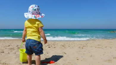 Beaches are a haven for children from depression caused by closures