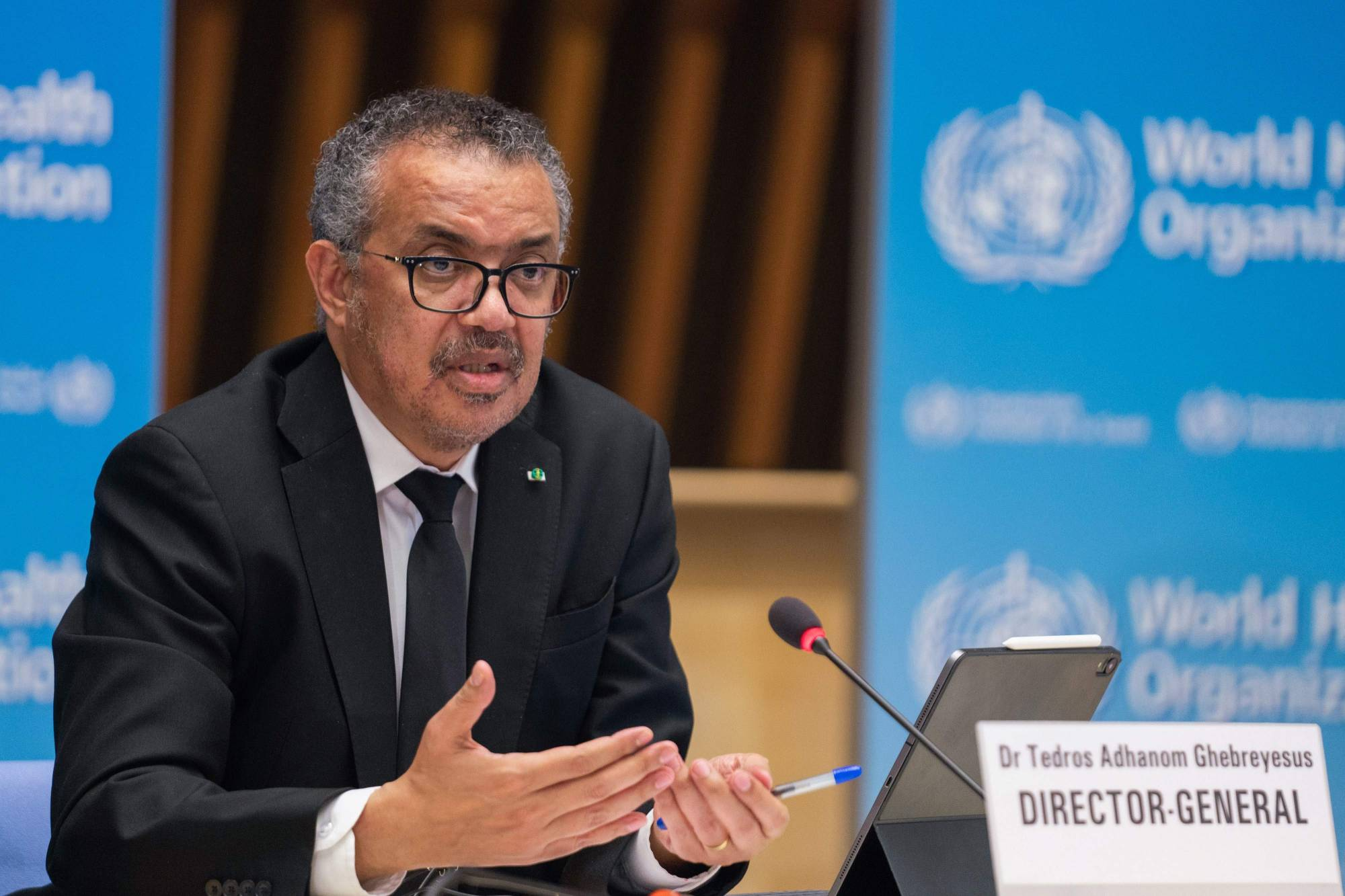 WHO Director-General Praises Qatar's Support for Poor Countries to Confront COVID-19 Pandemic