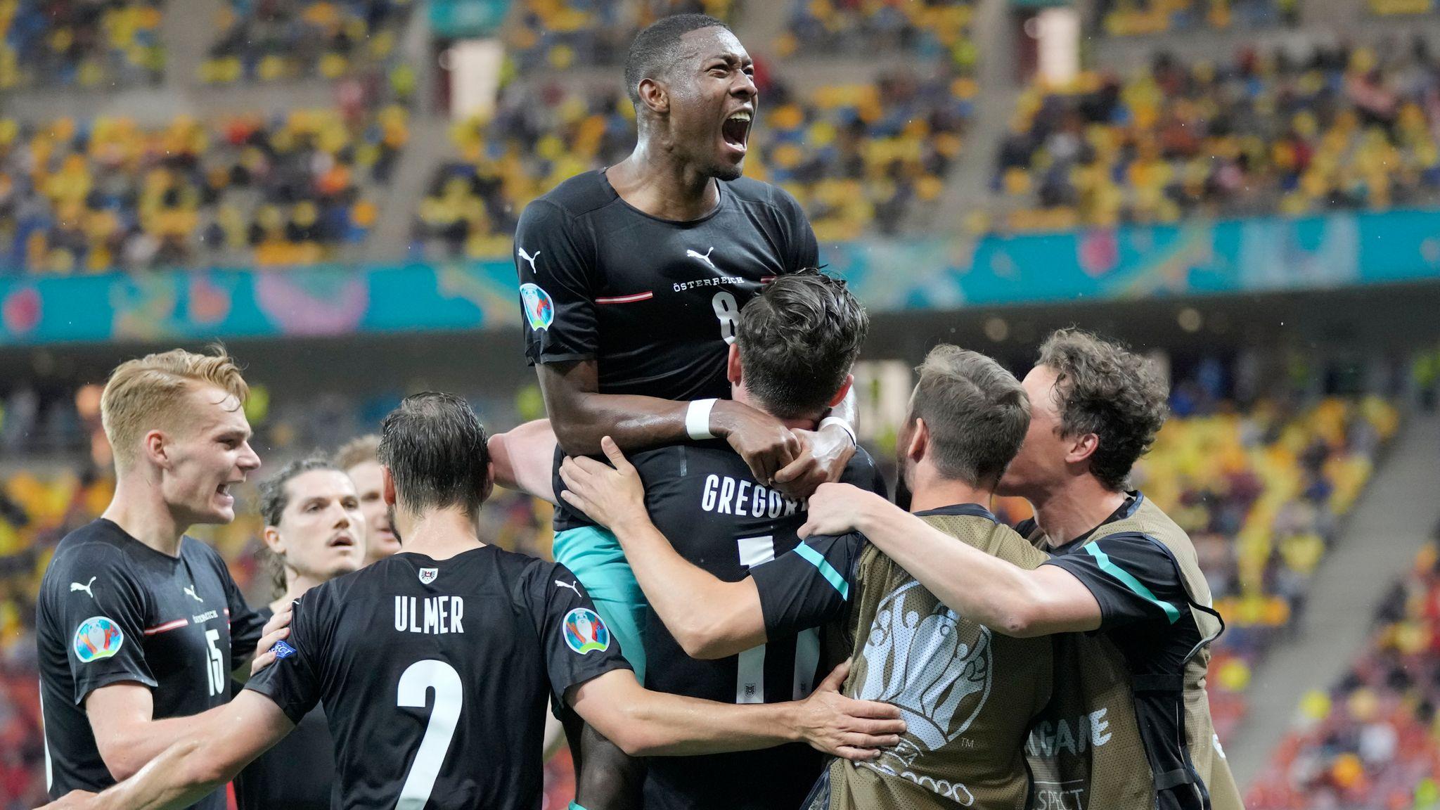 Euro 2020: Austria Beats North Macedonia