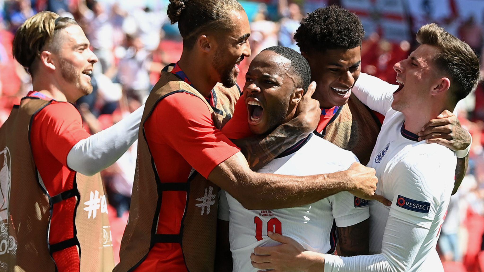 Sterling Goal Hands England 1-0 Win over Croatia