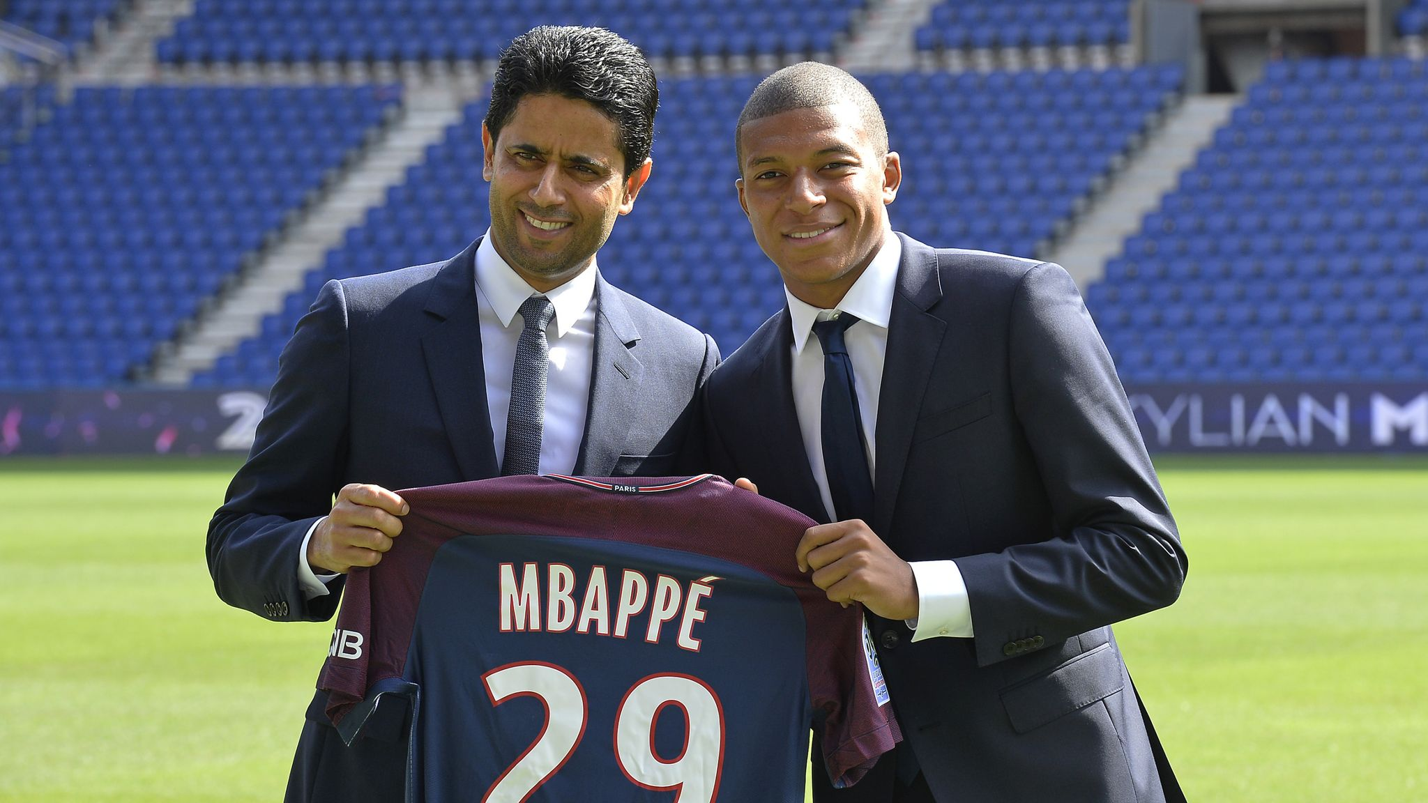"""Al-Khelaifi: """"Mbappe"""" will continue at PSG and we'll never sell him"""