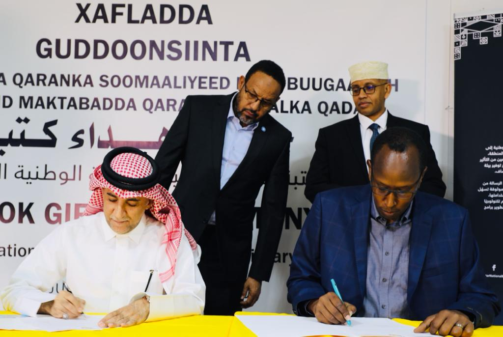 QNL Donates More Than 4,000 Books to Somali National Library