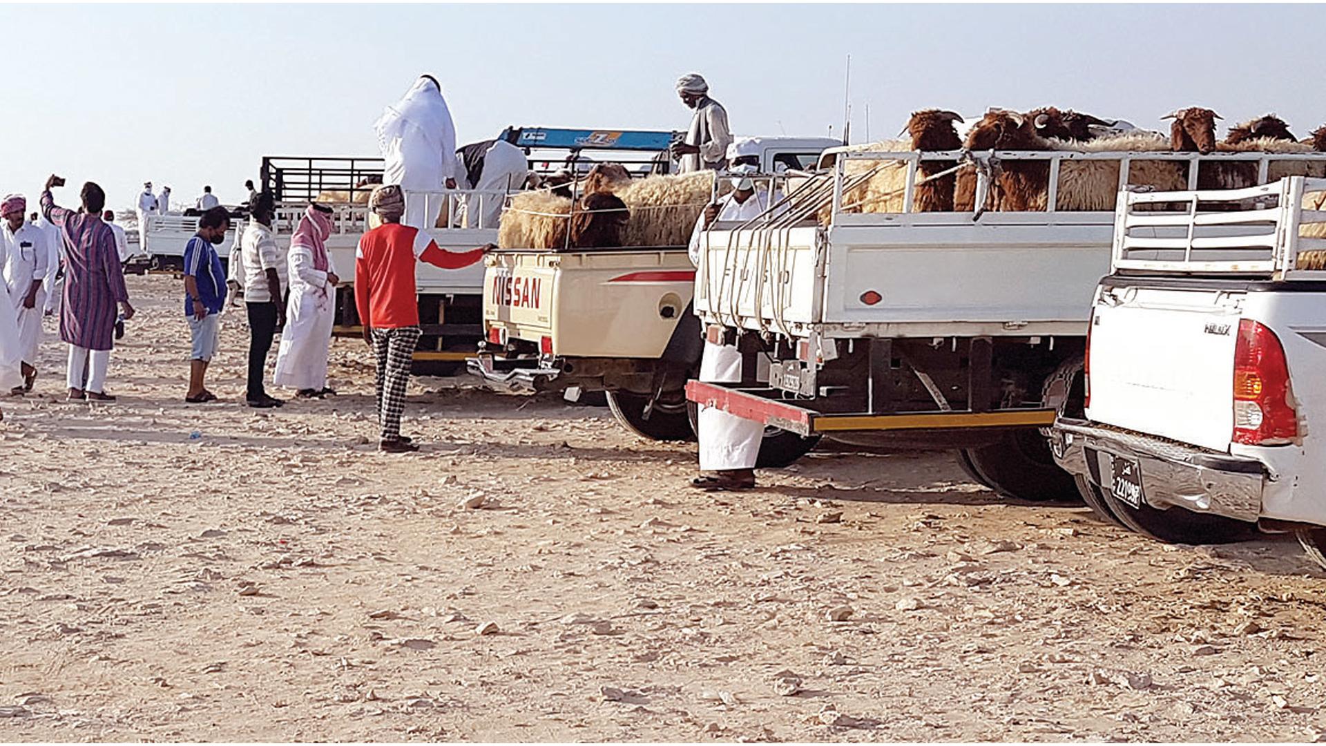 Random market sells sacrifices in Abu Nakhla