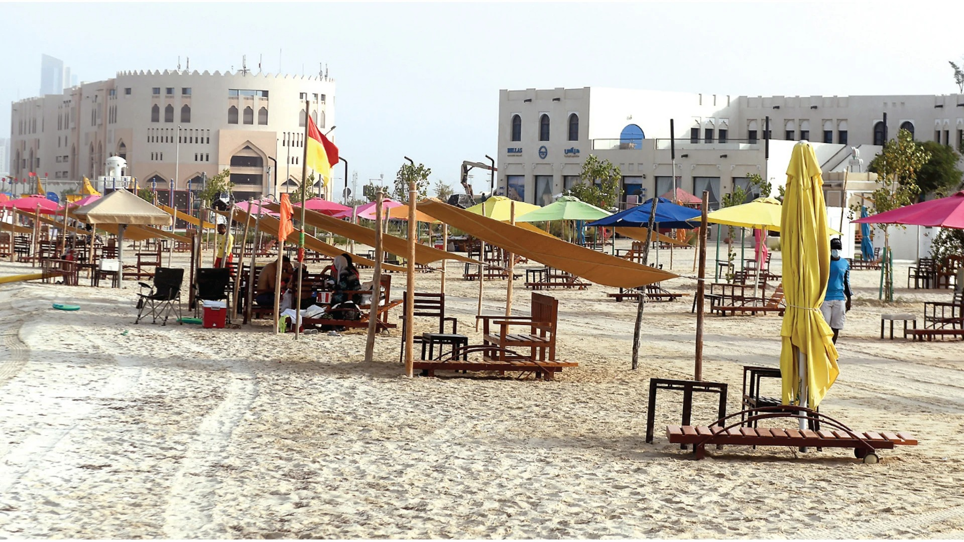 Katara Beach Surprises to Welcome Eid Audience