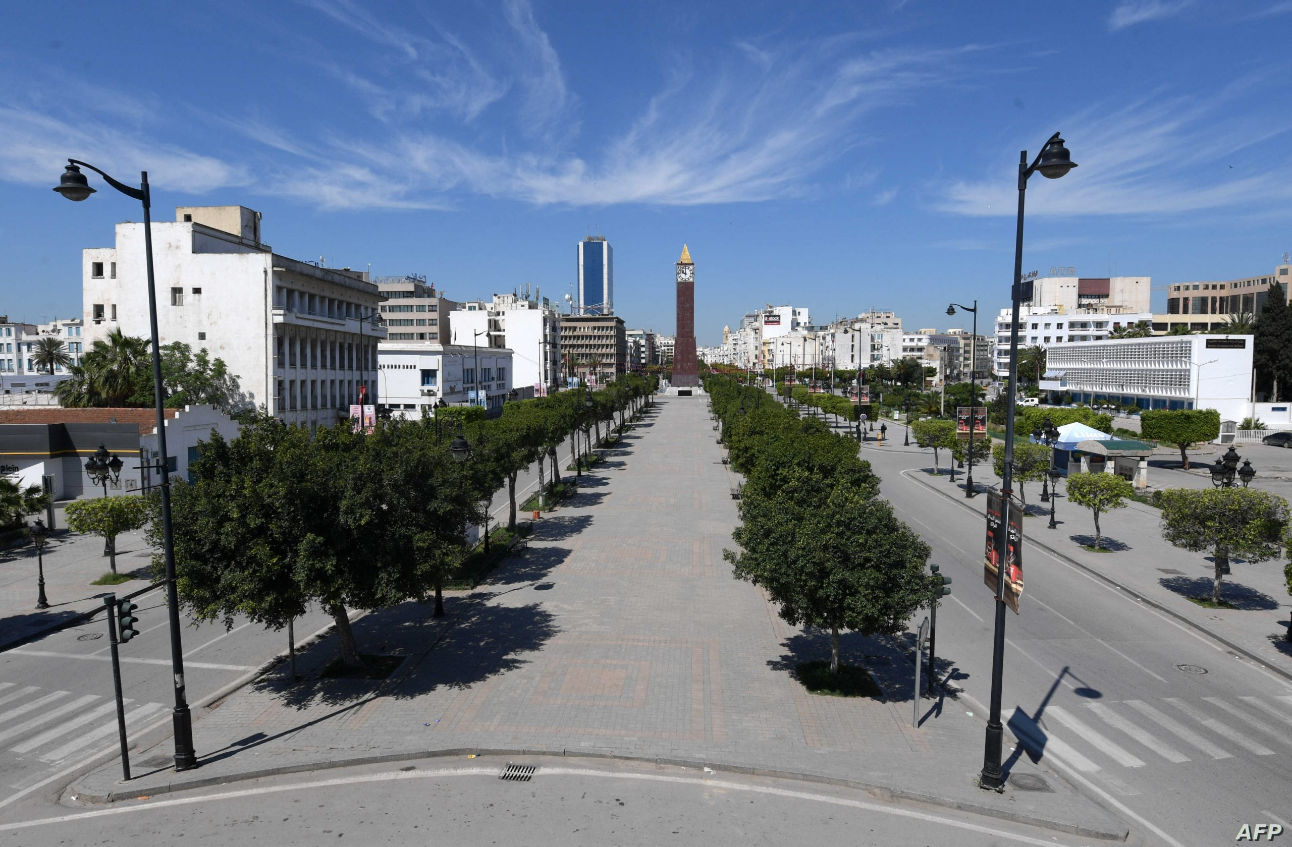 Our embassy in Tunisia calls for caution and prudence and to stay away from crowded places