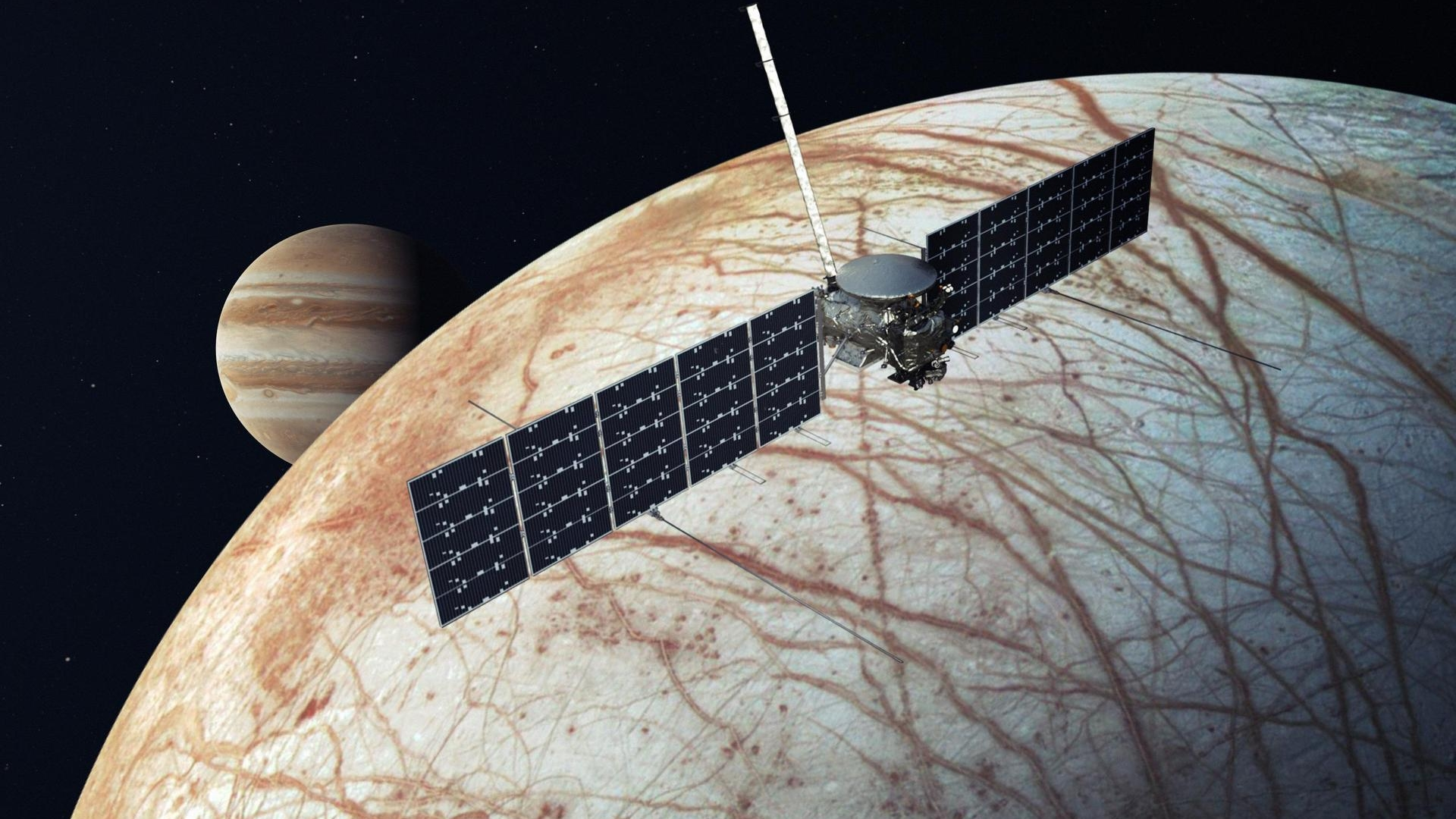 NASA selects SpaceX for mission to Jupiter moon Europa