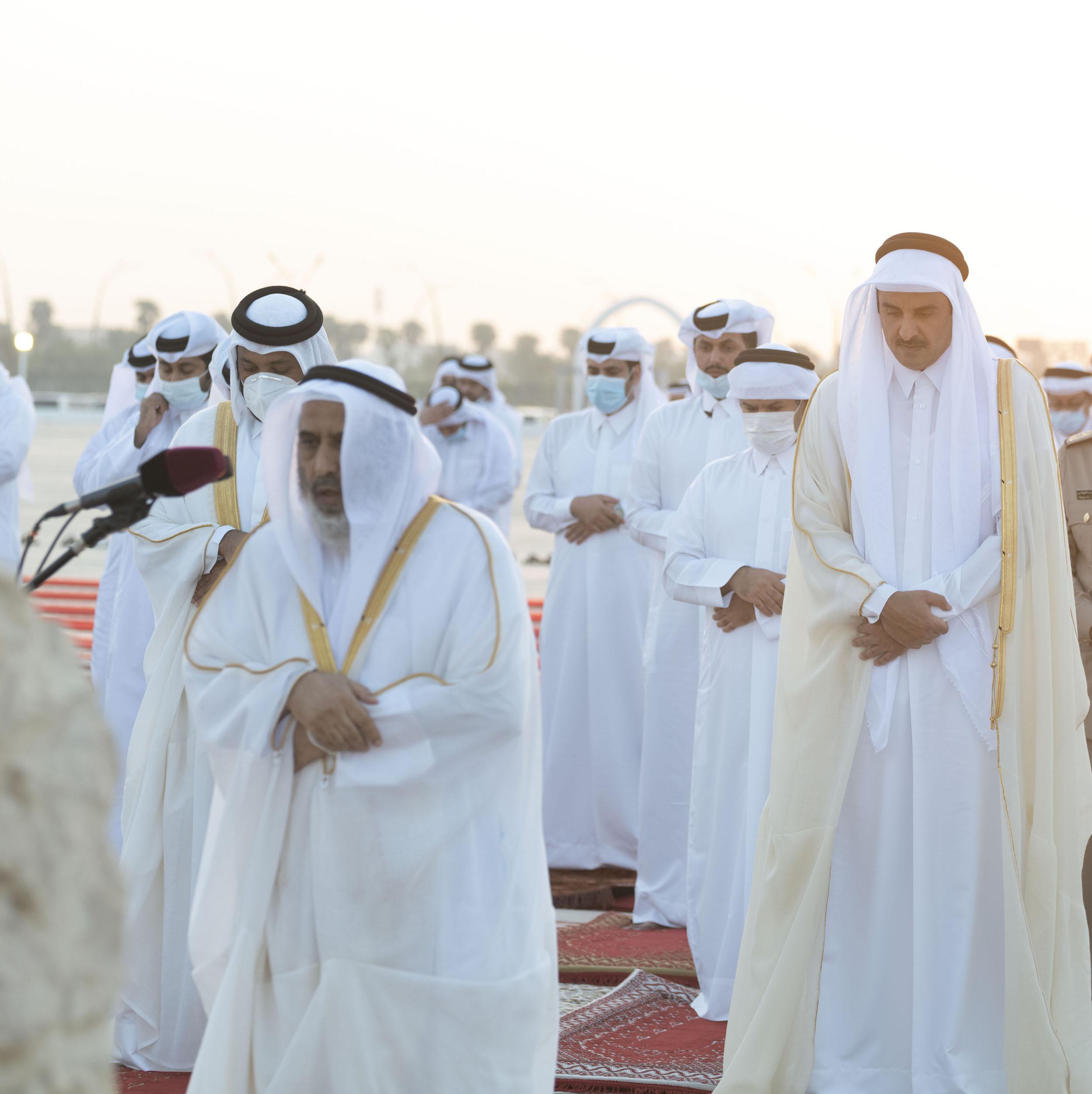 HH the Amir to Perform Eid Al-Adha Prayer Tomorrow