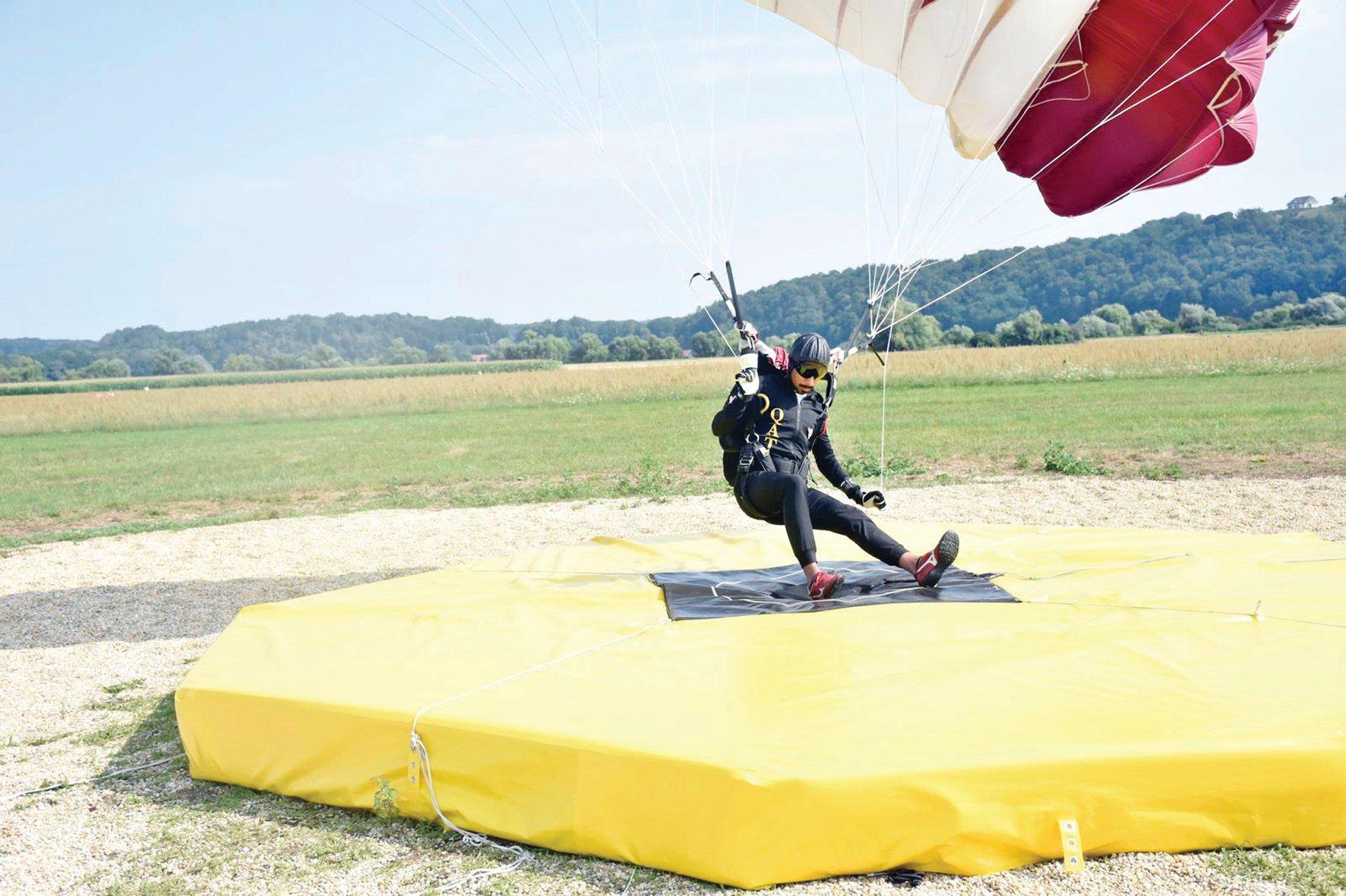 Qatar Parachute Jumping Team Win First Place in Slovenia Championship
