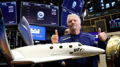 Billionaire Branson set to fly to space aboard Virgin Galactic rocket plane