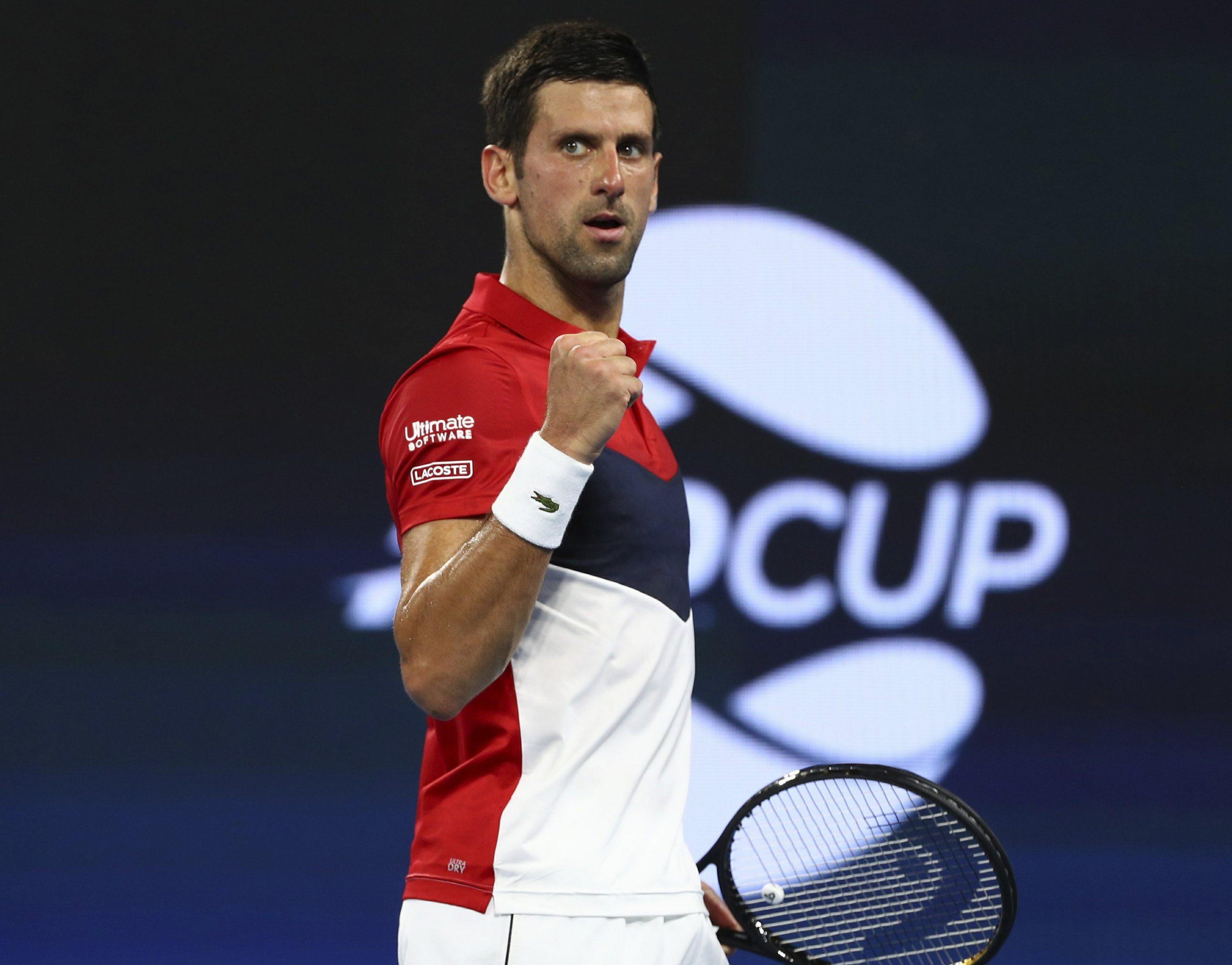 Djokovic Leads World Tennis Ranking