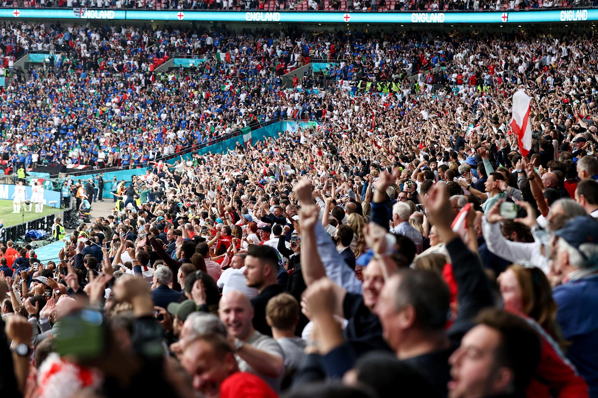 FA pledges full review into Wembley security breach