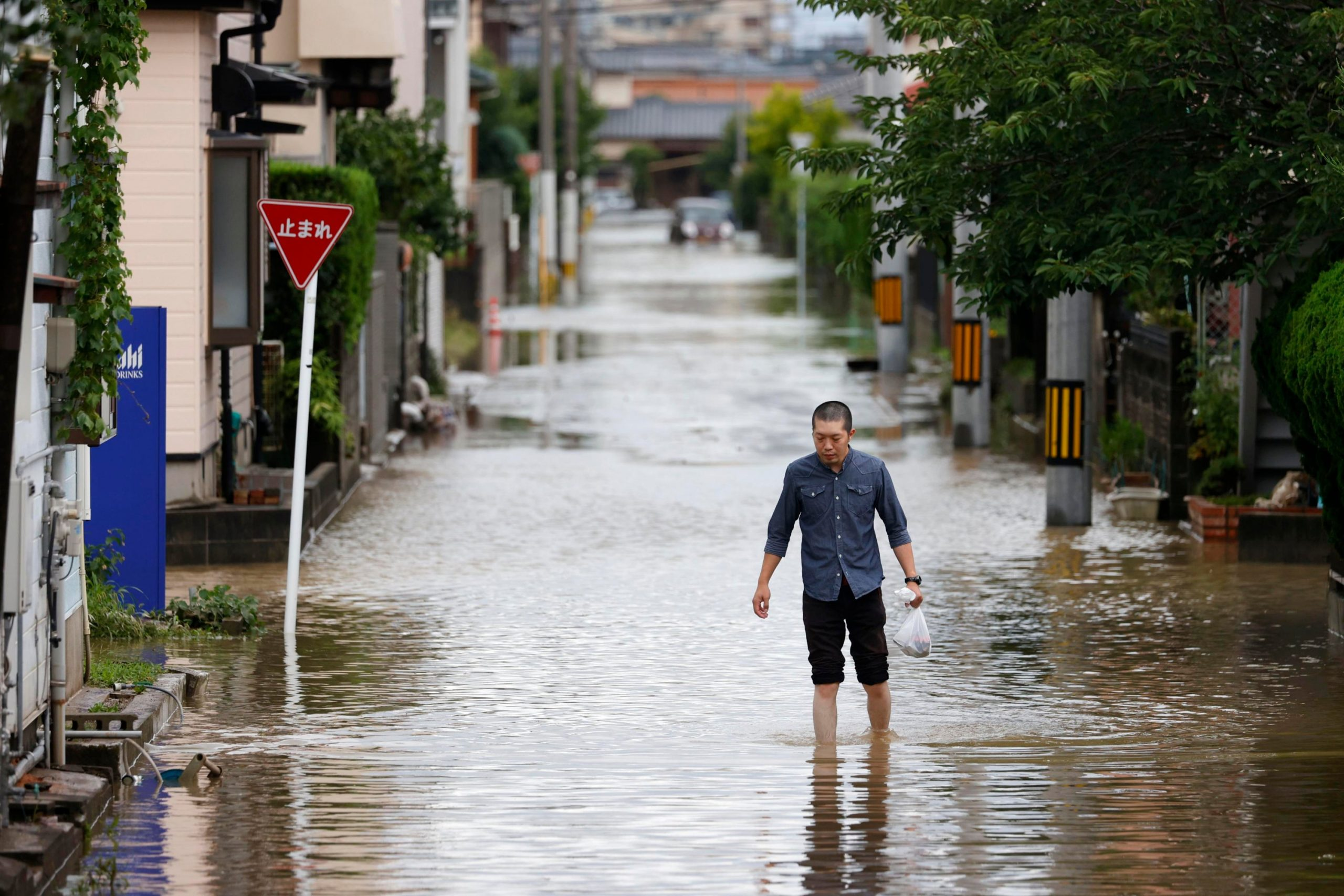 More than 120,000 To Evacuate After Heavy Rains in Japan