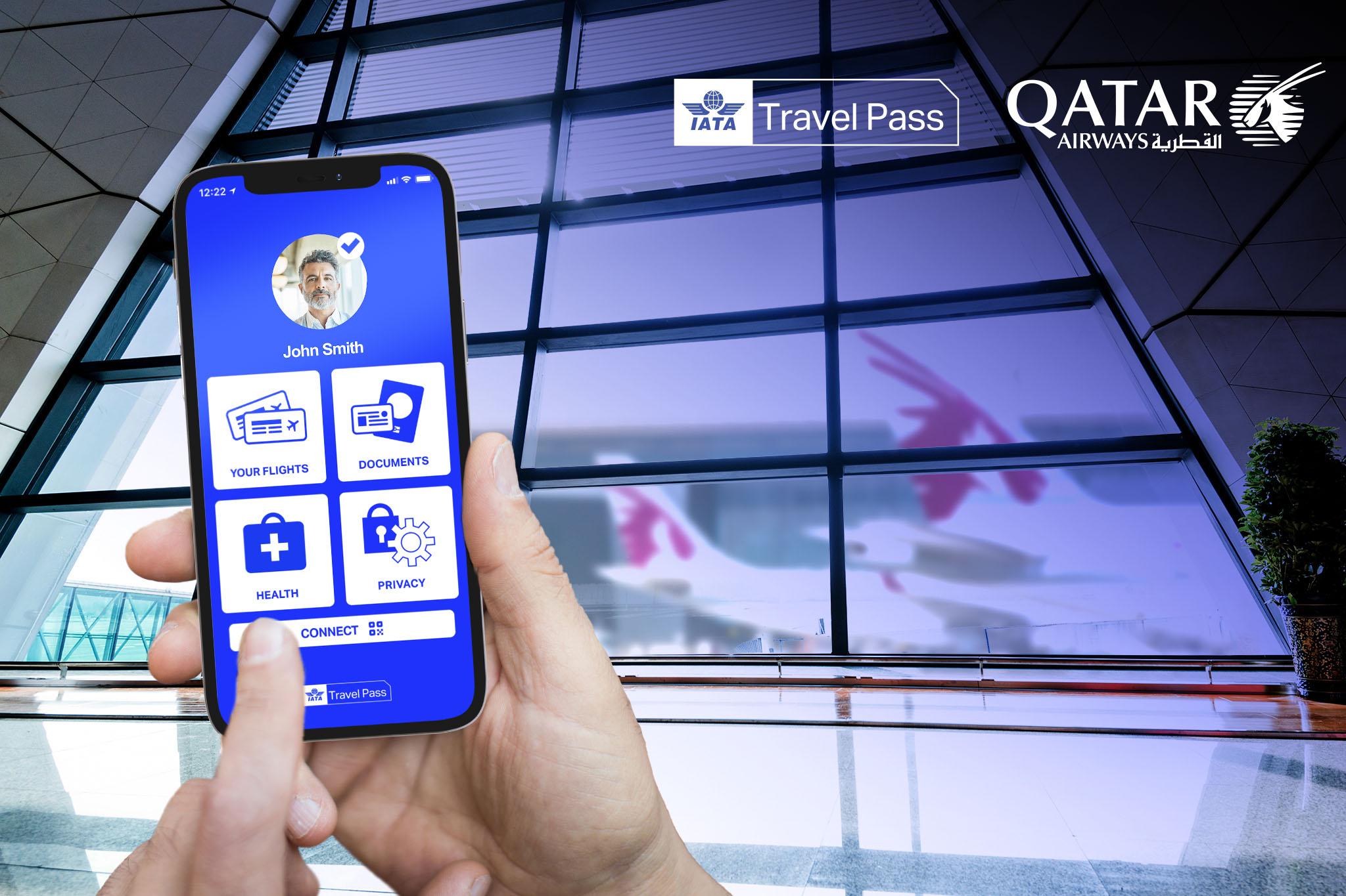 Qatar Airways Expands IATA Travel Pass Trial