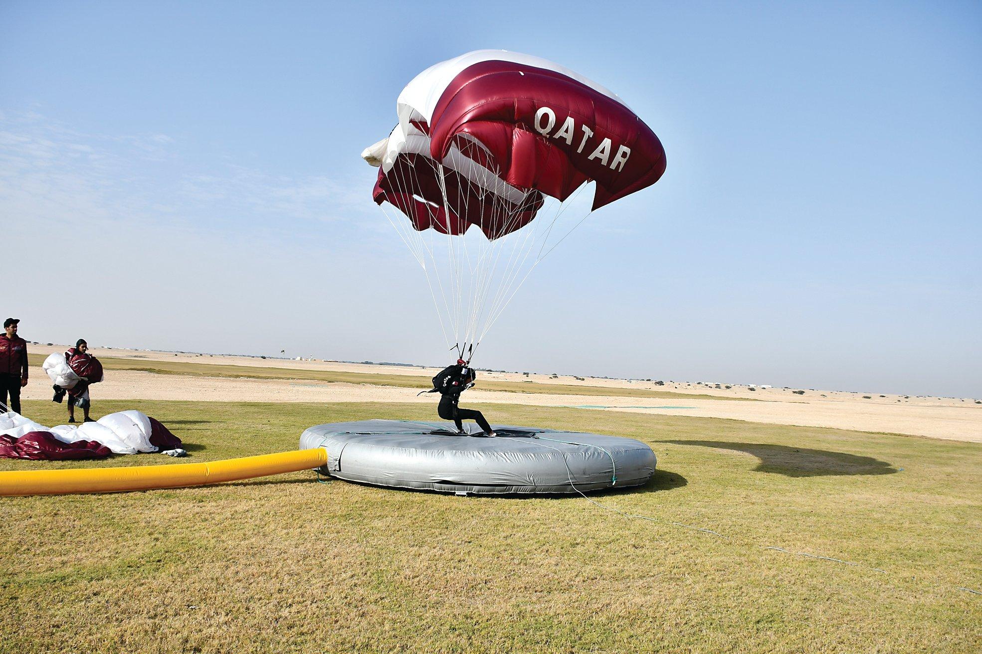 Doha Ready to Host World Parachuting Championship