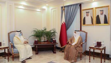 Speaker of Shura Council Meets Saudi Ambassador