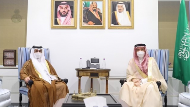 Undersecretary of Saudi Ministry of Foreign Affairs Meets Qatari Charge d'Affaires